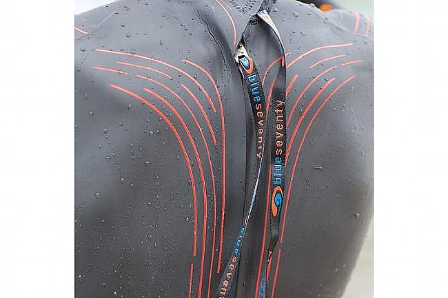 Blueseventy Mens Fusion Wetsuit (2020) Back and Zipper