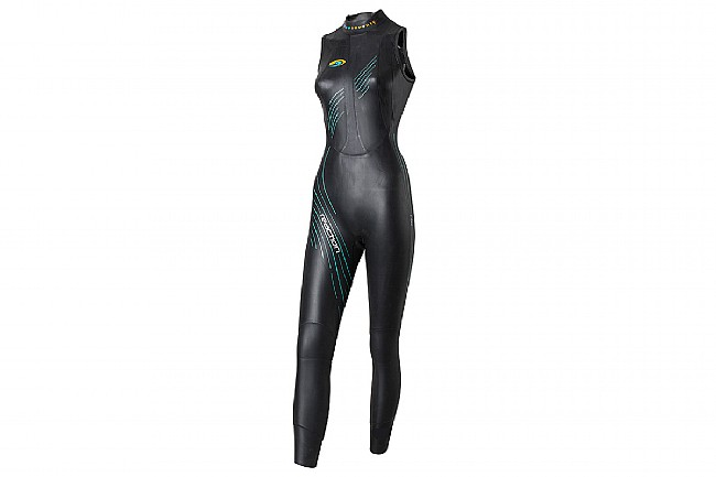 Blueseventy Womens Reaction Sleeveless Wetsuit (2021) Black