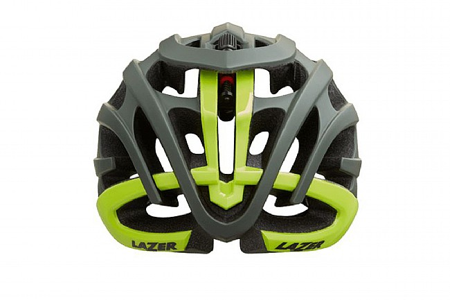Lazer Blade+ MIPS Helmet Dark Green Flash Yellow