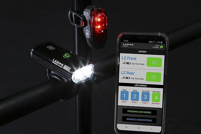 Lezyne Connect Smart 1000XL / KTV 75 Smart Pair