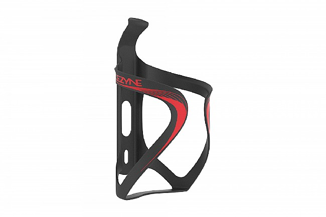 Lezyne Carbon Team Cage Black/Red