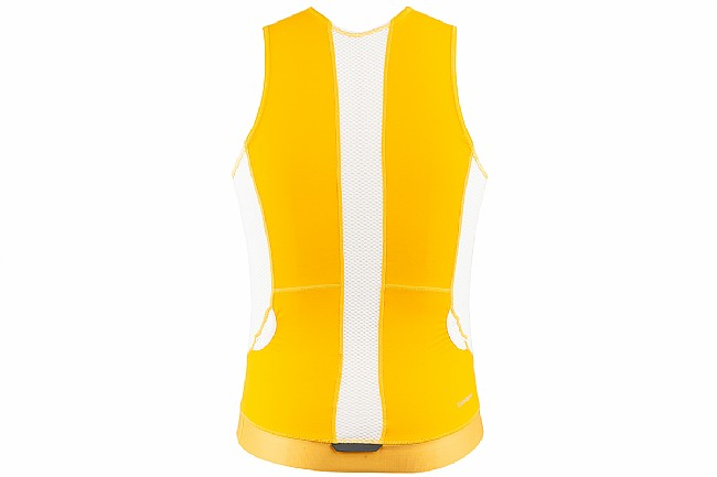 Louis Garneau Mens Sprint Tri Sleeveless Jersey Gold Fusion - Medium