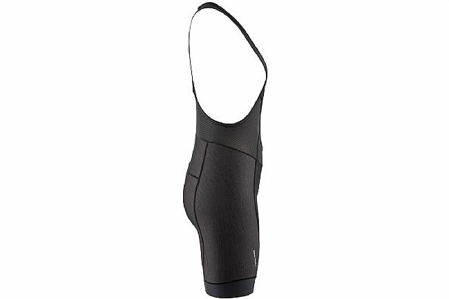 Louis Garneau Womens Fit Sensor Texture Bib Shorts Black