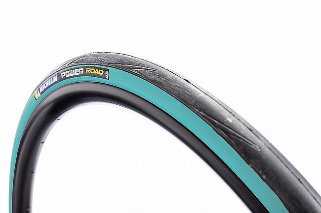 Michelin Power Road TS Tire Digital Blue