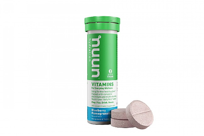 Nuun VITAMINS Hydration (12 Tablets) Blueberry Pomegranate