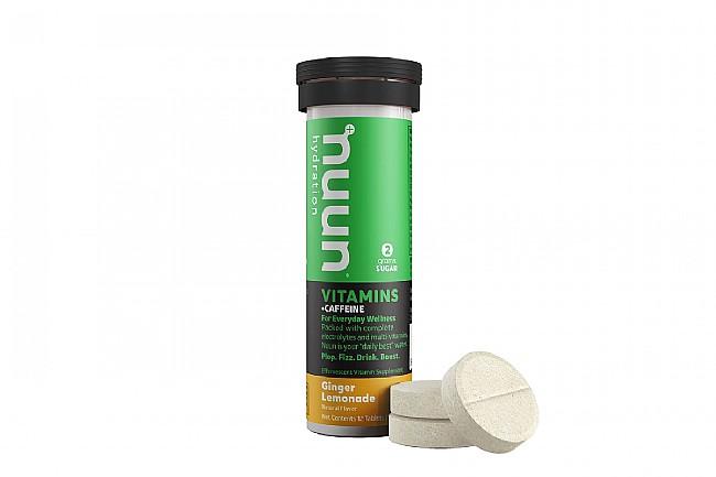 Nuun VITAMINS Hydration (12 Tablets) Ginger Lemonade + Caffeine