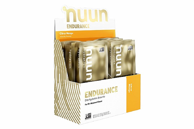 Nuun Endurance Elite Hydration Mix (Box of 12) Citrus Mango