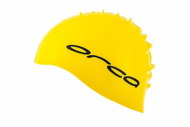 Orca Silicone Swimcap Yellow - One Size