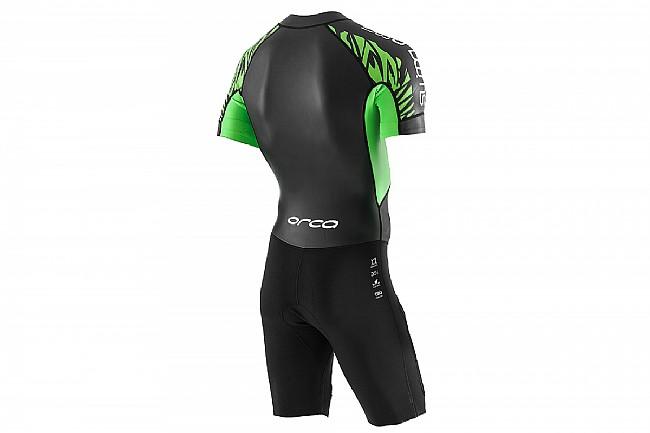Orca Mens SwimRun Core One-Piece Wetsuit    Black/Green