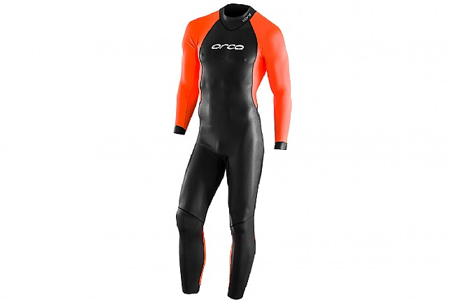 Orca Mens Openwater Core Hi-Vis Wetsuit Black/Orange