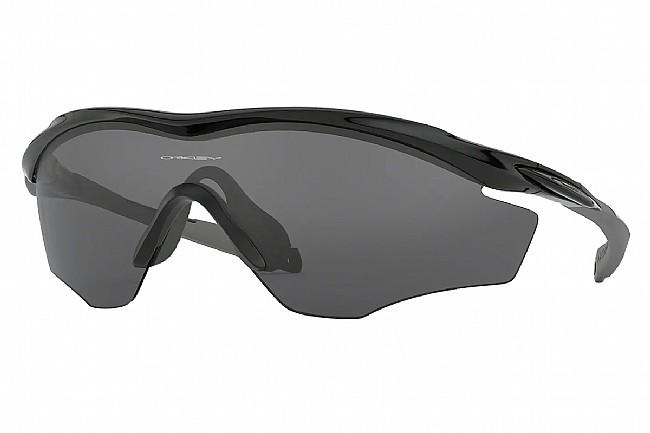 Oakley M2 Frame XL Sunglasses Polished Black w/Grey