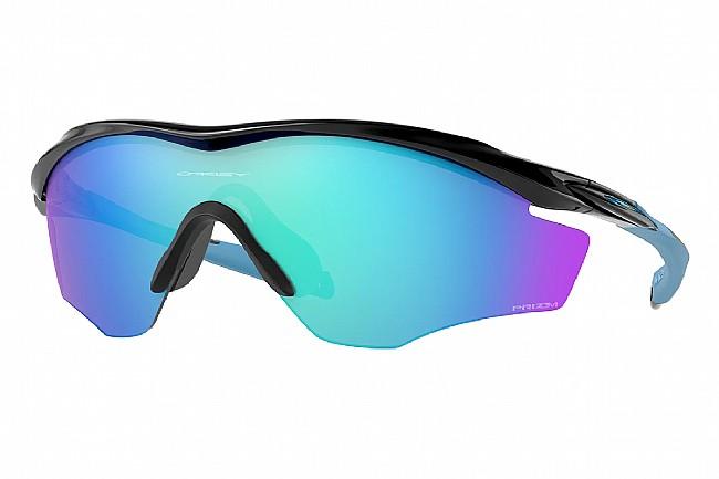 Oakley M2 Frame XL Sunglasses Polished Black w/PRIZM Sapphire