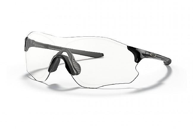 Oakley EVZero Path Sunglasses Polished Black - Clear Lenses