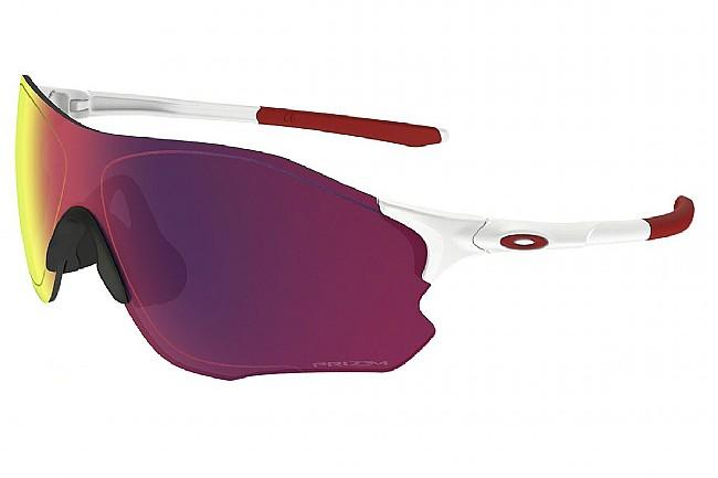 Oakley EVZero Path Sunglasses Matte White - Prizm Road Lens