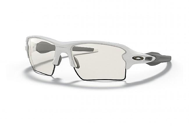 Oakley Flak 2.0 XL  Polished White - Clear Lenses