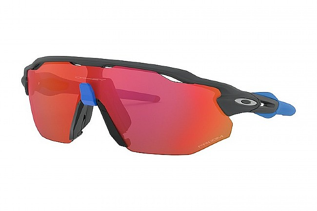 Oakley Radar EV Advancer Sunglasses Matte Carbon - Prizm Trail Torch Lenses