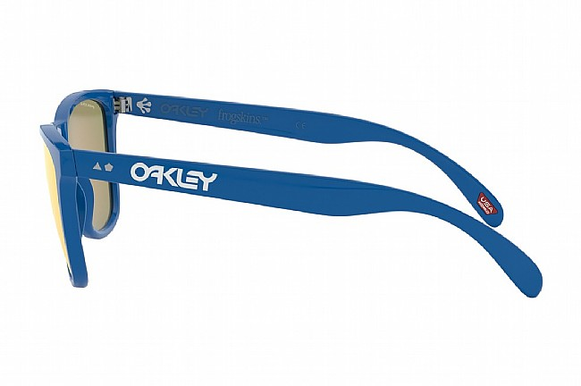 Oakley Frogskins 35th Anniversary Sunglasses Primary Blue w/ Prizm Ruby