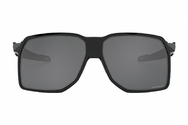 Oakley Portal Sunglasses Polished Black w/ Prizm Black Polarized