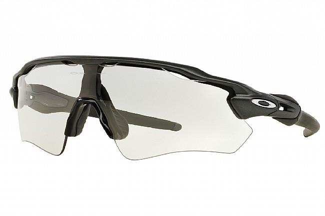 Oakley Radar EV Path Photochromic Sunglasses Steel - Clear to Black