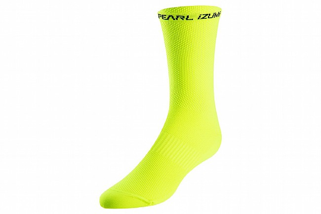 Pearl Izumi Elite Tall Sock Screaming Yellow