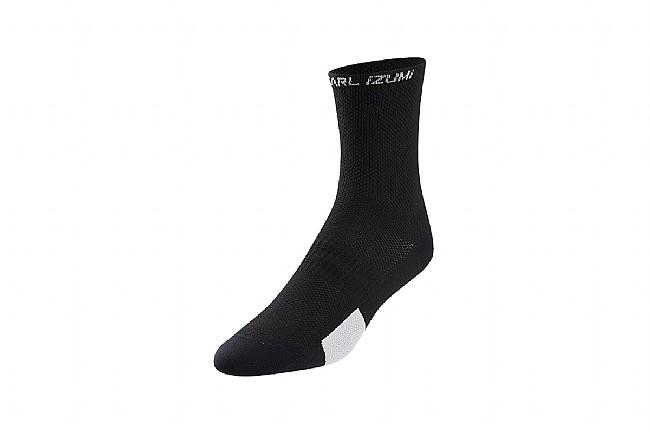 Pearl Izumi Womens Elite Tall Socks PI Core Black