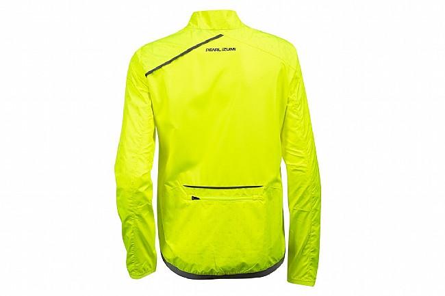 Pearl Izumi Womens BioViz Barrier Jacket Screaming Yellow/Reflective Deco
