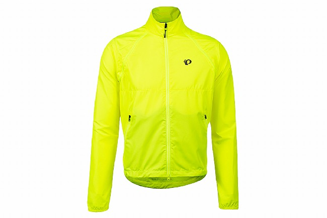 Pearl Izumi Mens Quest Barrier Convertible Jacket Screaming Yellow