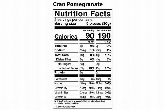 PROBAR Bolt Energy Chew (Box of 12) Cran-Pomegranate