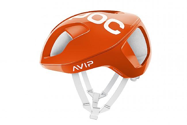 POC Ventral SPIN Road Helmet Zink Orange AVIP