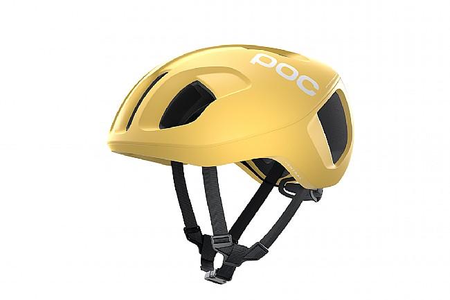 POC Ventral SPIN Road Helmet Sulfur Yellow Matt