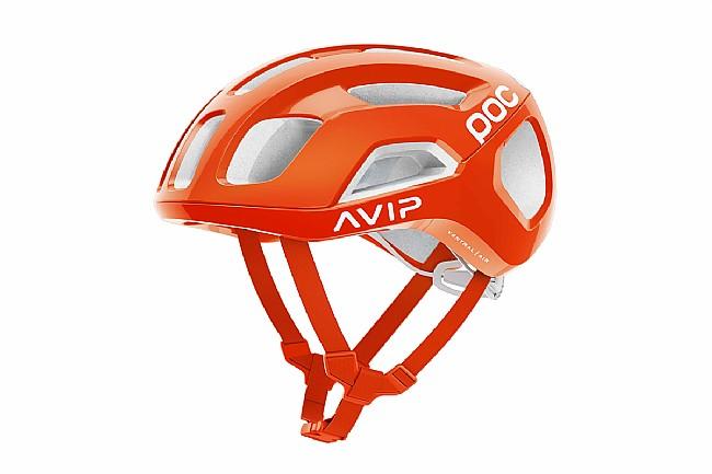 POC Ventral Air SPIN Road Helmet Zink Orange AVIP