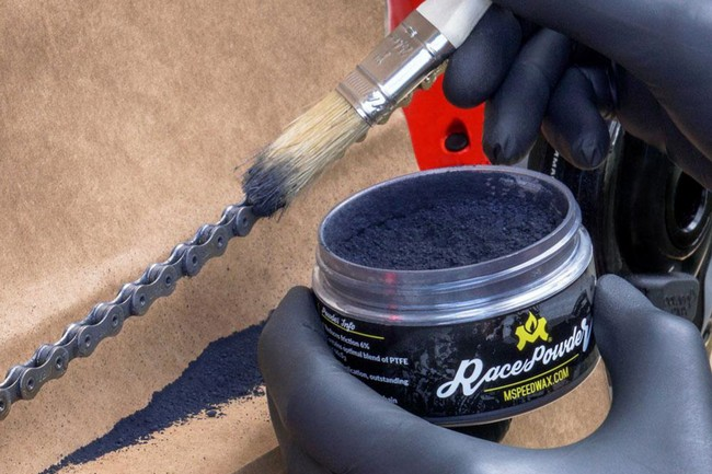 Molten Speed Wax Race Powder Bike Chain Lube Brush Not Included