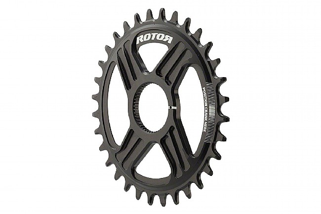 Rotor NoQ Round Chainrings - Direct Mount MTB 38 Tooth