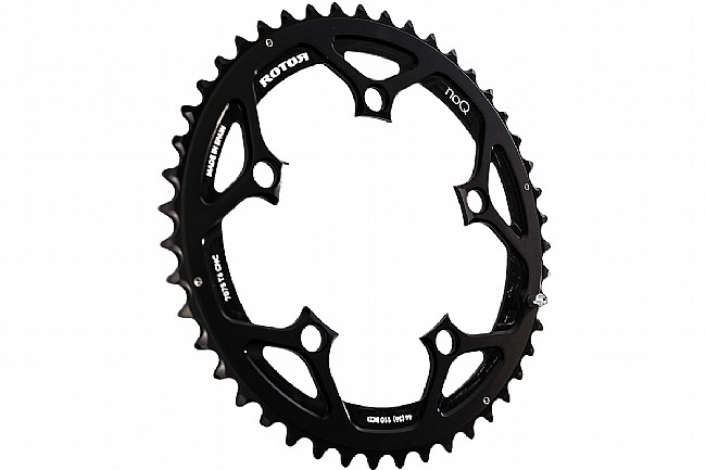 Rotor NoQ Round Chainrings - 110x5 BCD Outer Non-Aero 46 tooth