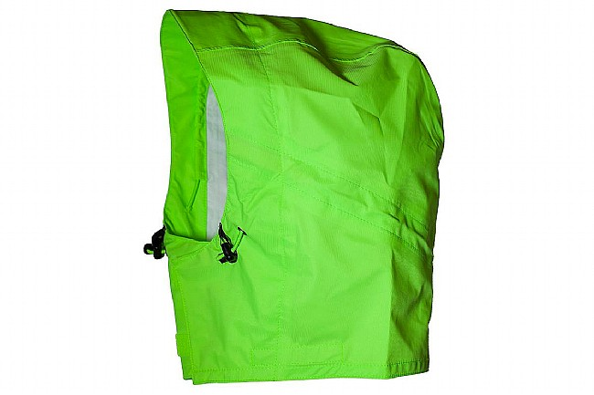 Showers Pass Waterproof Rain Hood Neon Green- Small/Medium