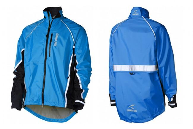 Showers Pass Mens Transit Jacket Ocean Blue