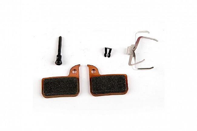 SRAM HRD Disc Brake Pads Sintered Metallic Pad - Steel Back