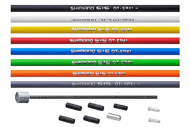 Shimano OptiSlik Road Shift Cable Set Black - Cable/Housing set