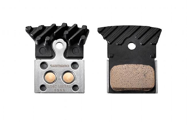 Shimano L04C Metal Disc pads w/Cooling Fins Shimano L04C Metal Disc pads w/Cooling Fins