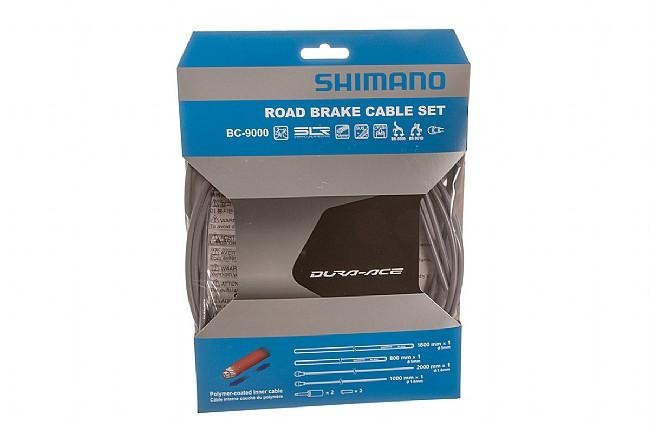Shimano Polymer Coated Brake Cable Set Grey