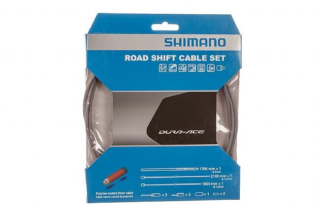 Shimano Polymer Coated Shift Cable Set Grey
