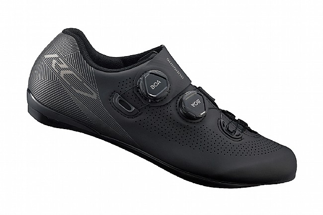 Shimano RC701E Wide Road Shoe Black
