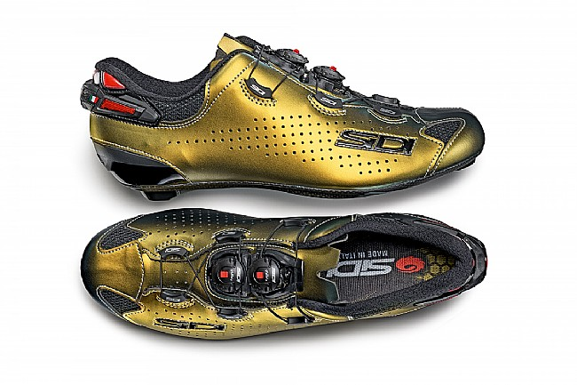 Sidi Shot 2 Limited Edition Road Shoe Gold/Silver