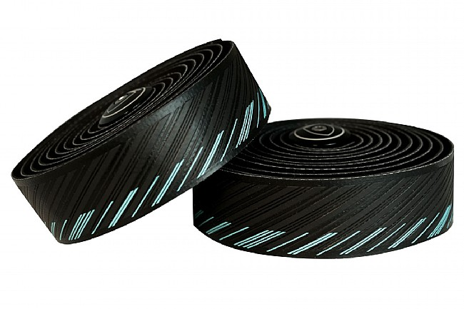 Silca Nastro Cuscino Handlebar Tape Black With Miami Green
