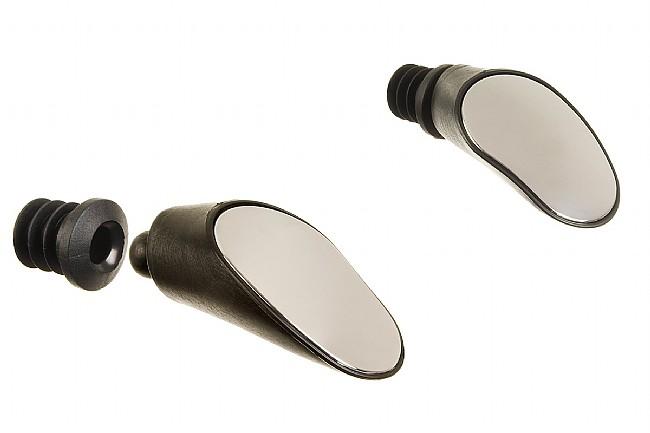 Sprintech Bar-End Mirrors Black Mirror Set
