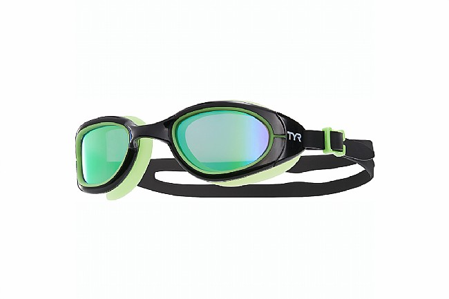 TYR Sport Special Ops 2.0 Polarized Goggles Black Frame/Green Gasket/Green Lens
