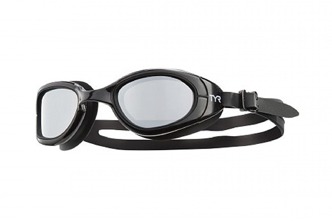 TYR Sport Special Ops 2.0 Polarized Goggles Silver/Black/Black