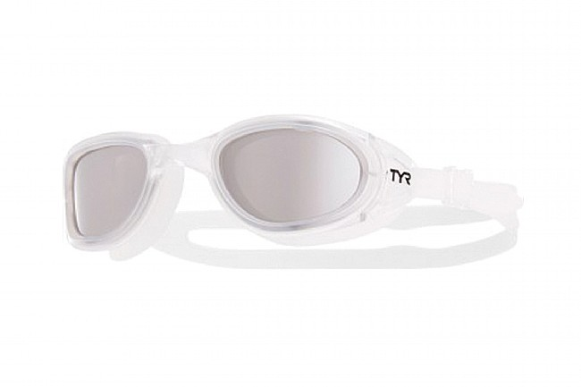 TYR Sport Special Ops 2.0 Polarized Goggles Silver/Clear/Clear