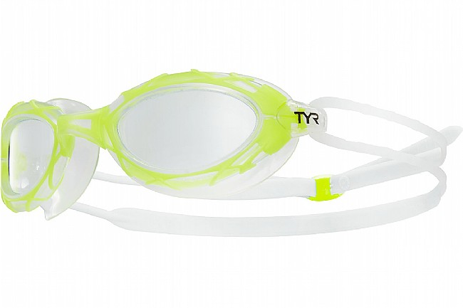 TYR Sport Nest Pro Goggle Yellow Clear Frame/Clear Lens