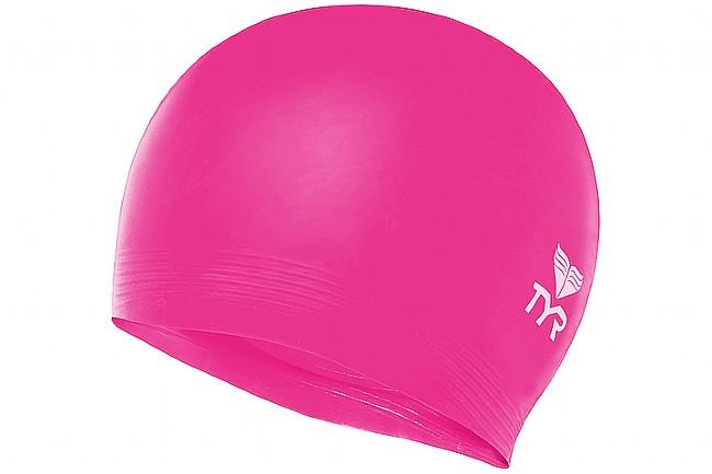 TYR Sport Latex Swim Cap Pink